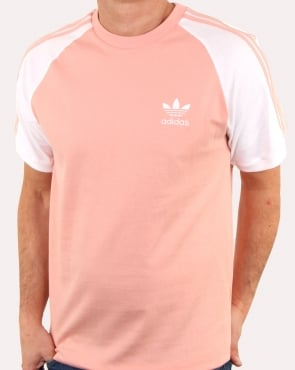 Adidas Originals 3 Stripes T Shirt Dust Pink
