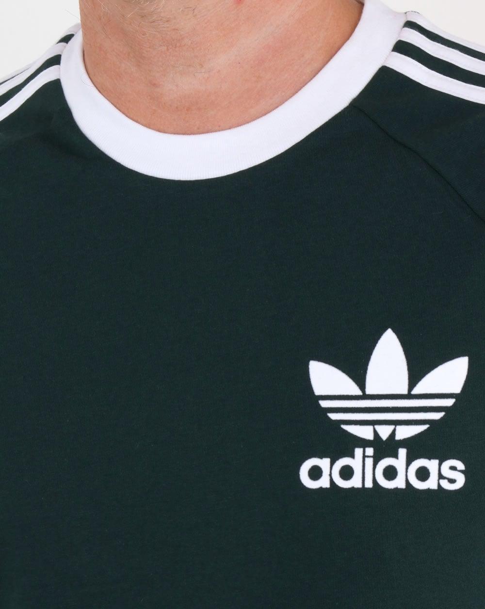 b11d8eb22 Adidas Originals CLFN T Shirt Green Night,3 stripes,originals,mens,tee