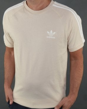 Adidas Originals 3 Stripes T Shirt Linen