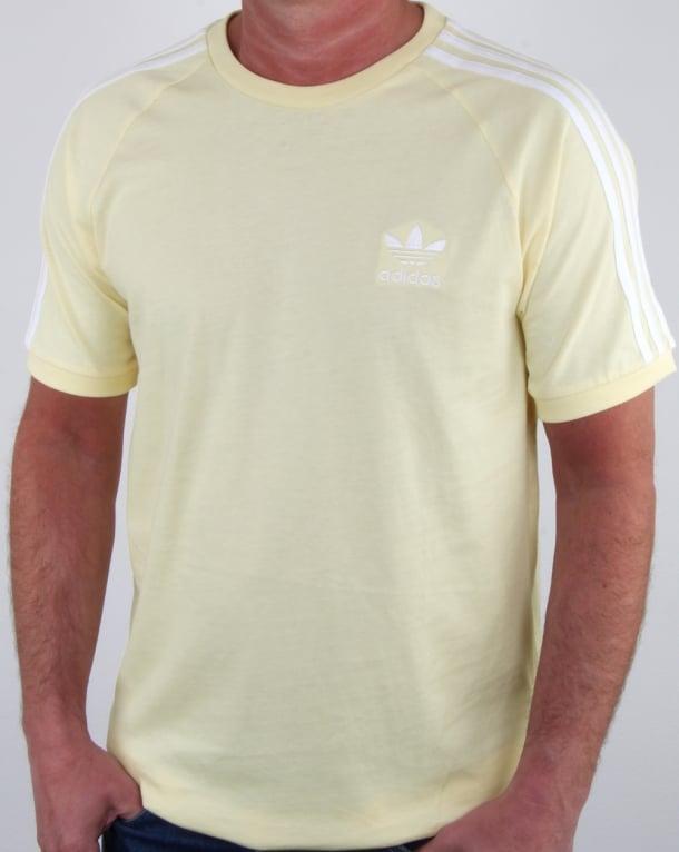Stripes T GeelHerenTrefoilKatoen Originals 3 shirt Adidas QCoedxErBW