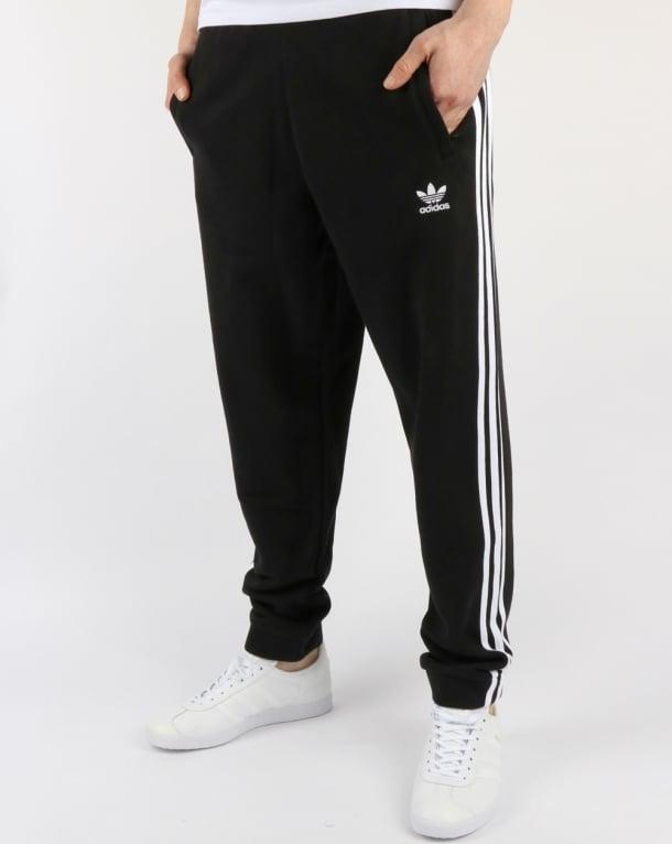 7c6bc611 Adidas Originals 3 Stripes Track Pants Black