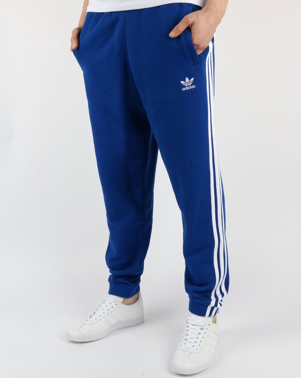 Adidas Originals 3 Stripes Track Pants Collegiate Royal