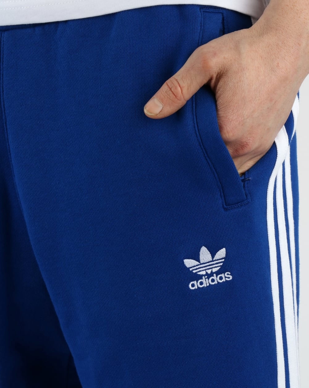 adidas beckenbauer track pants royal