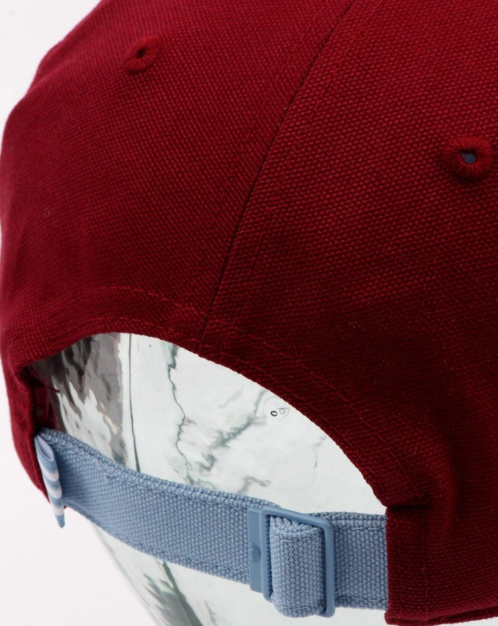 6d979cf8768 Adidas Originals 6 Panel Unstructured Cap Burgundy ash Blue