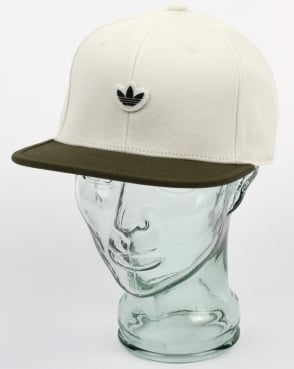 Adidas Originals 6 Panel Unstructured Cap Off White/Night Cargo