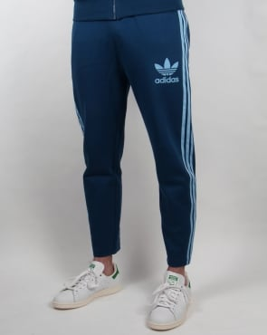 Adidas Originals 7/8 Length Track Pants Blue/Clear Blue