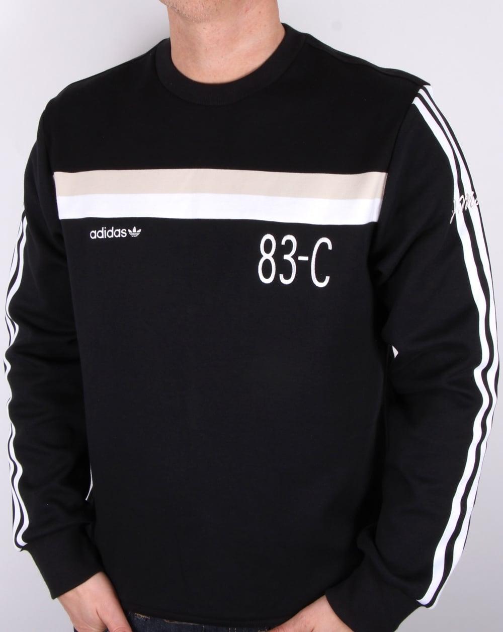 a37f6d75bbb8 adidas Originals Adidas Originals 83-c Sweatshirt Black