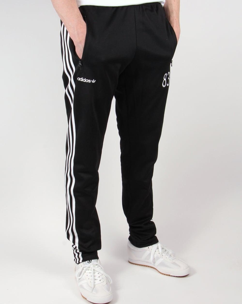 Adidas Originals 83 C Track Pants Black Jogging Bottoms
