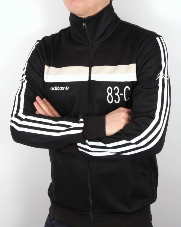 Adidas Originals 83-C Track Top Black