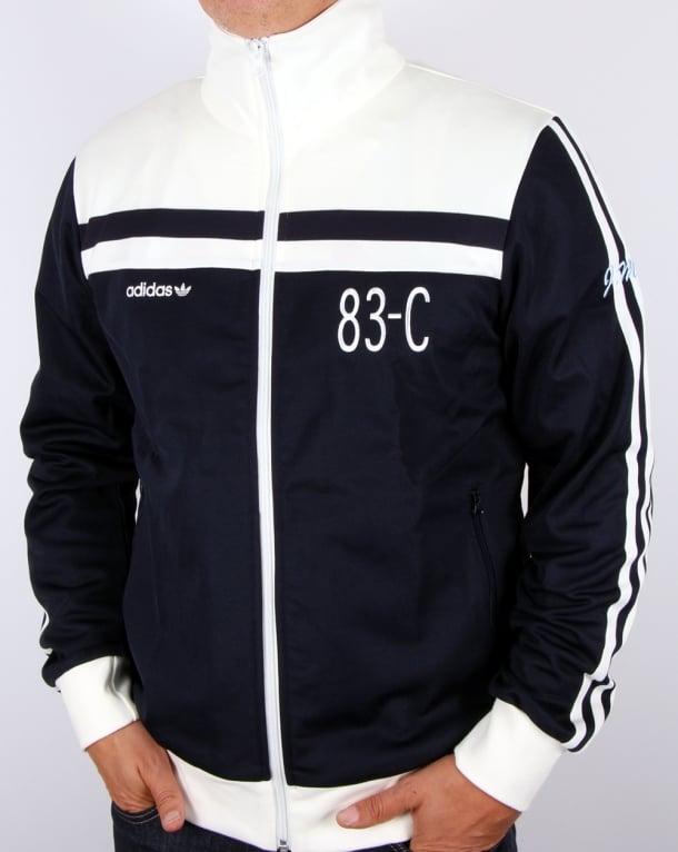 Adidas Originals 83-c Track Top Navy/off White