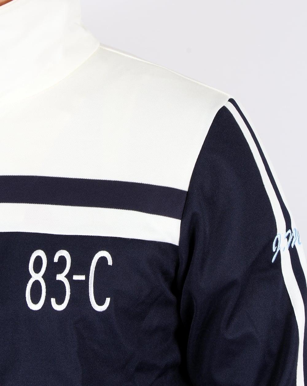 adidas 83 c. adidas originals 83-c track top navy/off white 83 c