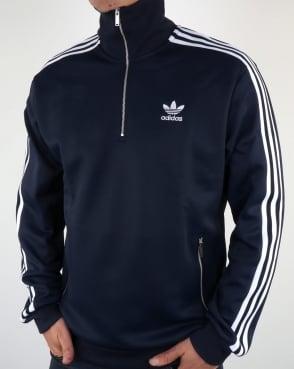 Adidas Originals 90s Half Zip Track Top Navy