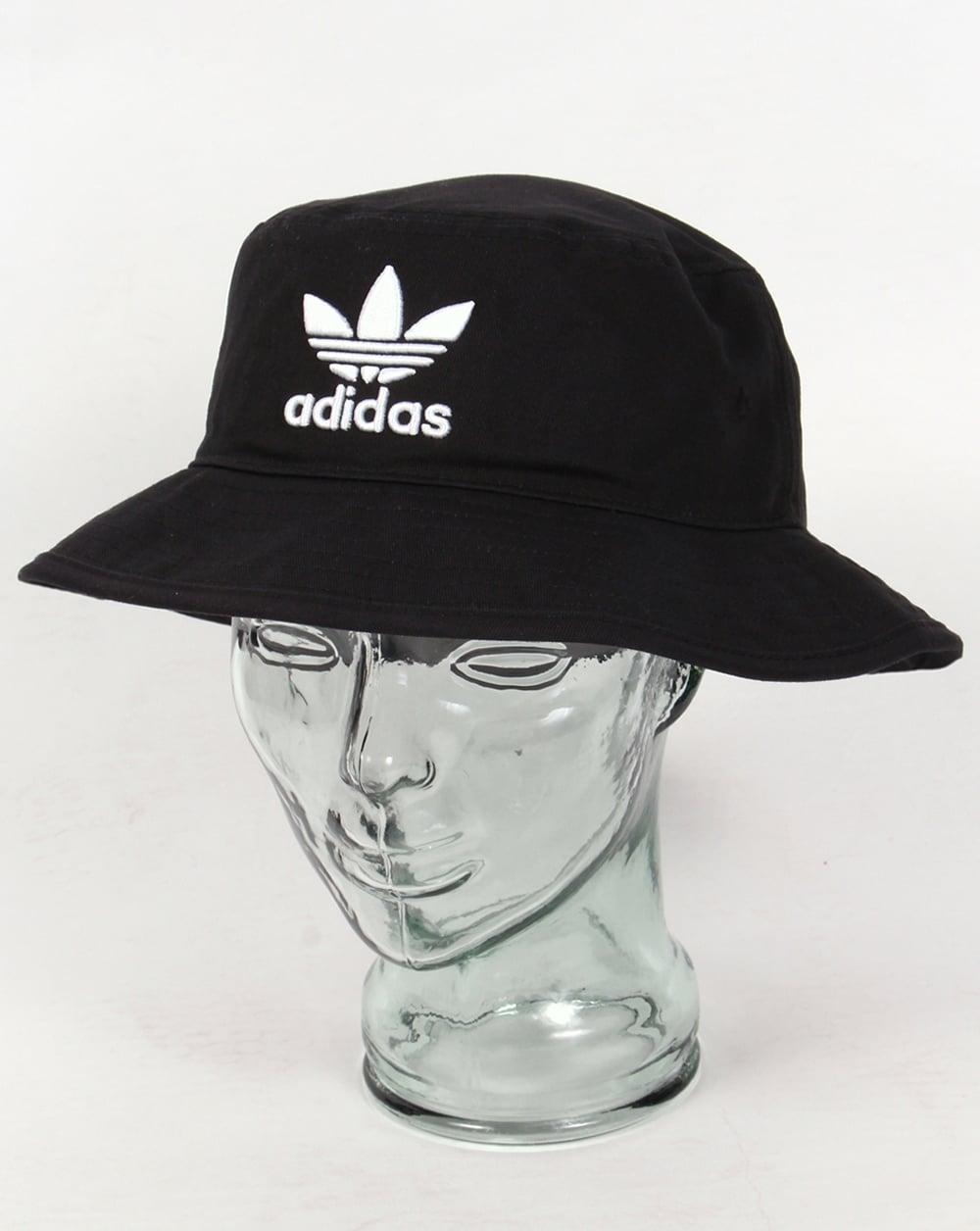 Adidas Originals Ac Bucket Hat Black Reni Stone Roses Mens