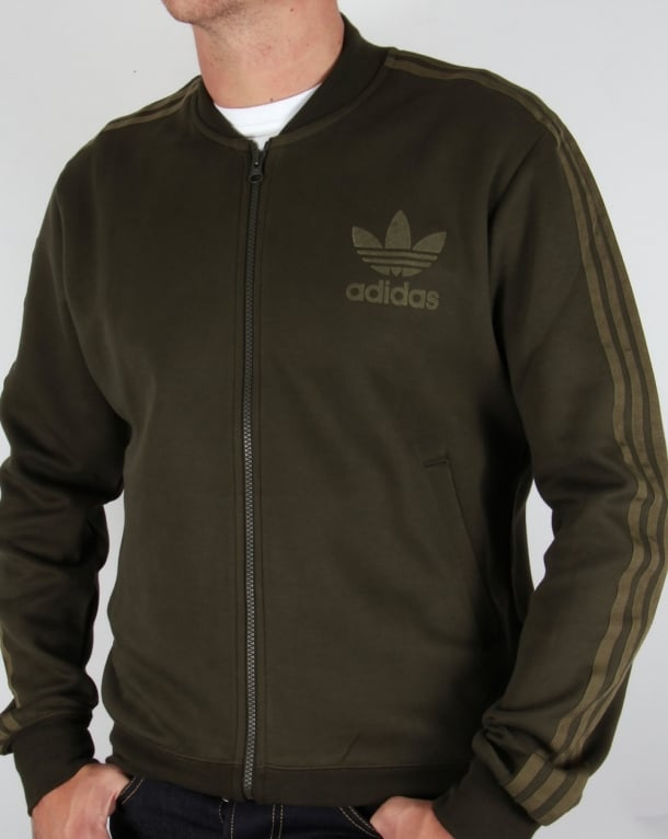 Adidas Originals Adicolor Track Top Night Cargo