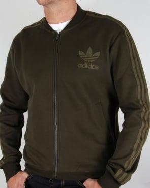 Adidas Originals Adicolor Track Top Night Cargo