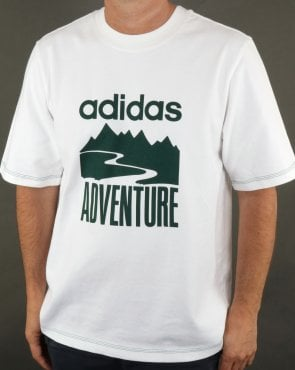 Adidas Originals Adventure T Shirt White