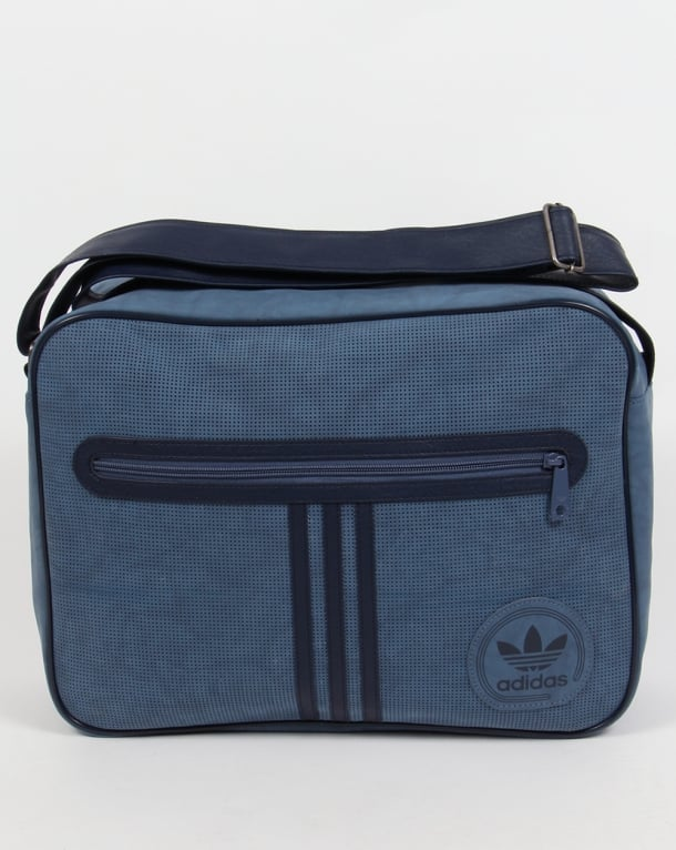 Adidas Originals Airliner Suede Bag Tech Ink