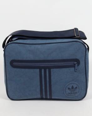 Adidas Originals Airliner Suede Bag Tech Ink