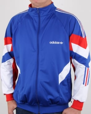 Adidas Originals Aloxe Track Top Bold Blue/white