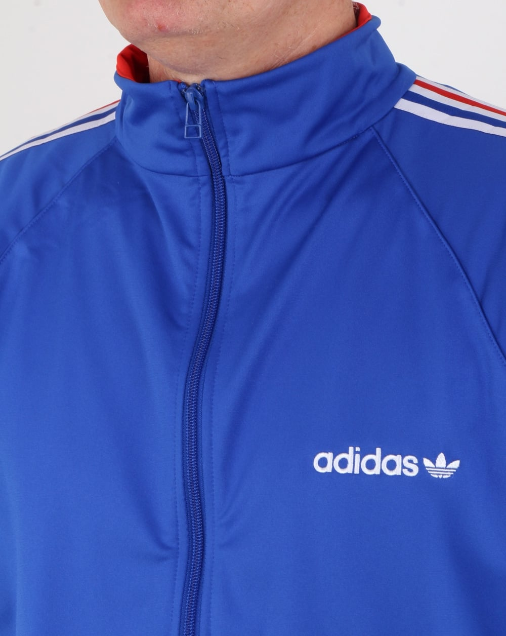 adidas originals aloxe track top bold bluewhite