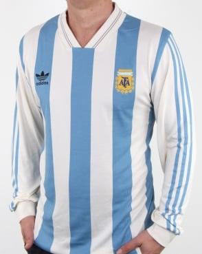 Adidas Originals Argentina Jersey White/blue