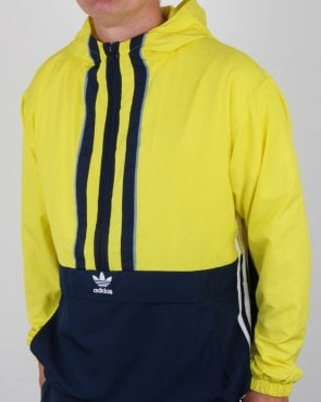 Adidas Originals Authentics Anorak Shock Yellow/navy