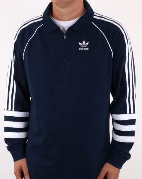 Adidas Originals Authentics Rugby Top Navy