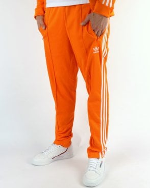 Adidas Originals Beckenbauer Track Pants Bright Orange