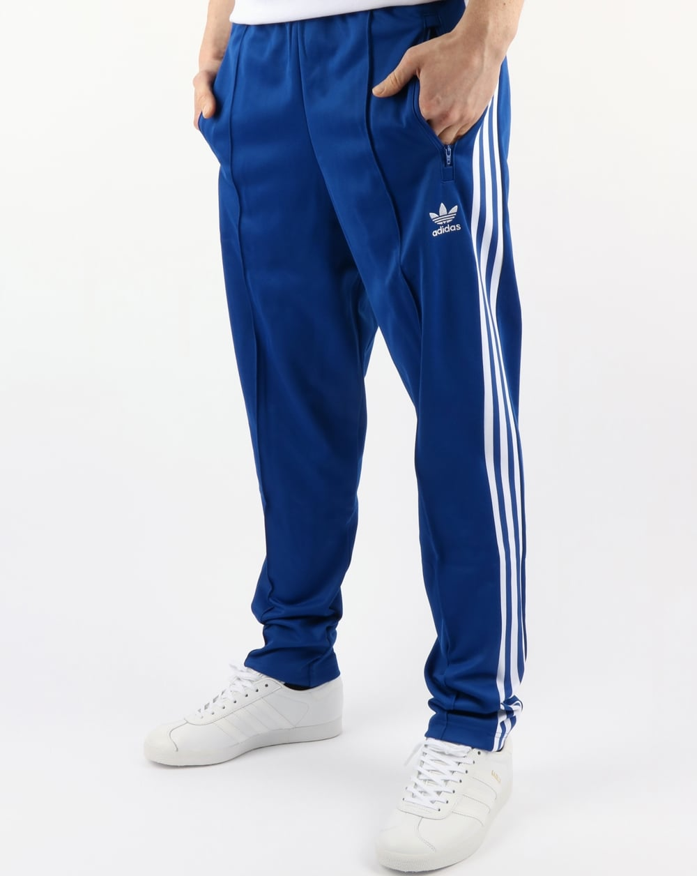 ligeramente Inmundicia explosión  Adidas Originals Beckenbauer Track Pants Royal,blue,tracksuit,bottoms