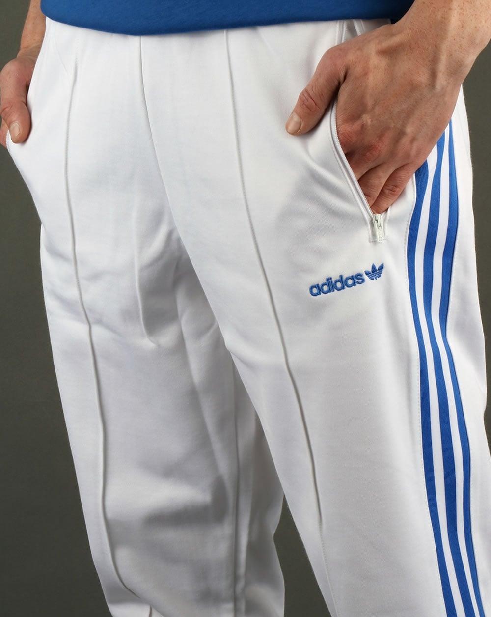 Adidas Originals Beckenbauer Track Pants WhiteBlue