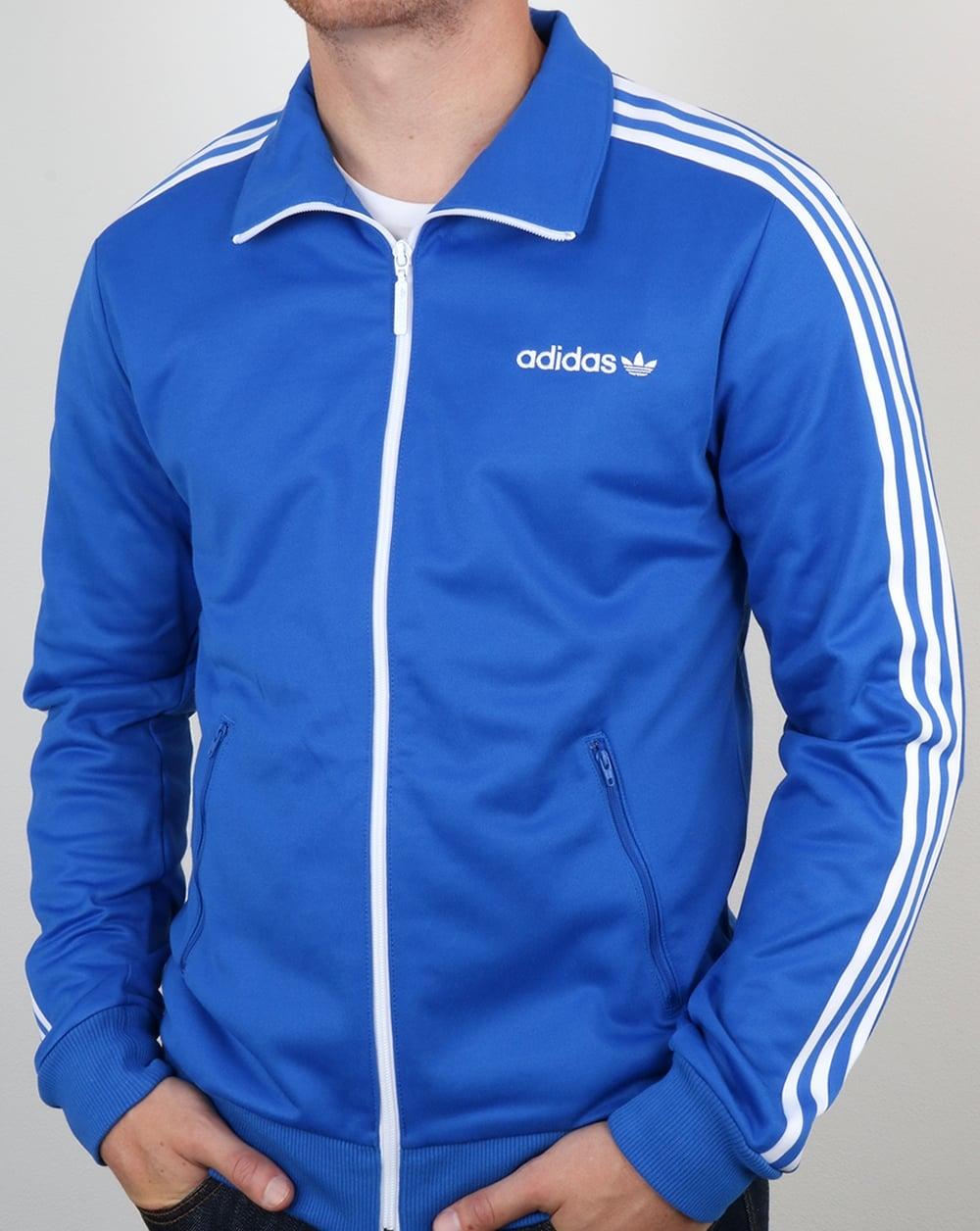 adidas beckenbauer track top blue jacket royal originals bluebird. Black Bedroom Furniture Sets. Home Design Ideas