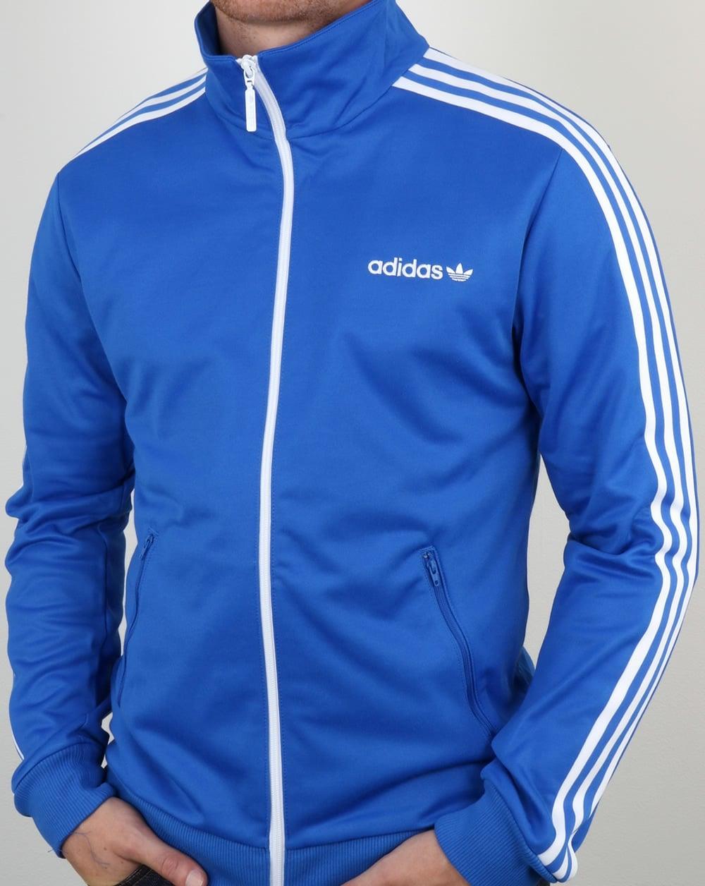 Adidas Beckenbauer, Track Top, Blue