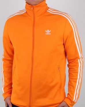 Adidas Originals Beckenbauer Track Top Bright Orange