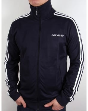 Adidas Originals Beckenbauer Track Top Navy Blue/white