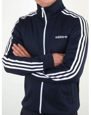 Giacca Superstar Rosso / Strisce Bianche Degli Uomini Adidas gZnVuu