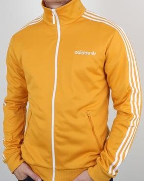 Adidas Originals Beckenbauer Track Top Old Skool Yellow