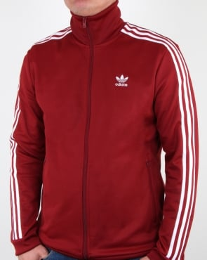 Adidas Originals Beckenbauer Track Top Rust Red