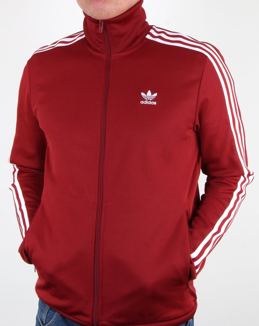 Adidas Originals Beckenbauer Track Top Rust Redjacket ...