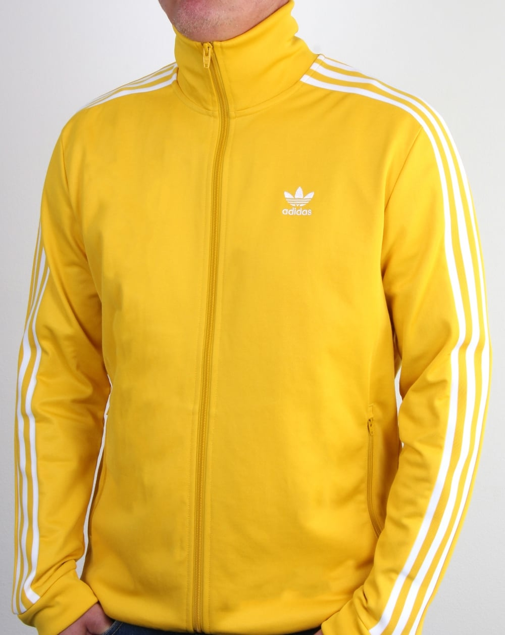Buy Here Pay Here Ma >> Adidas Originals Beckenbauer Track Top Tribe Yellow, Mens, jacket, top