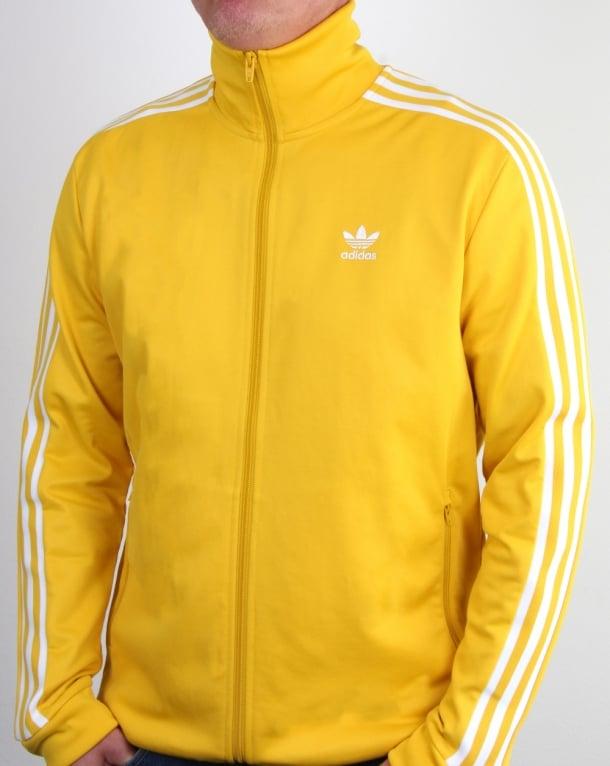 Adidas Originals Beckenbauer Track Top Tribe Yellow