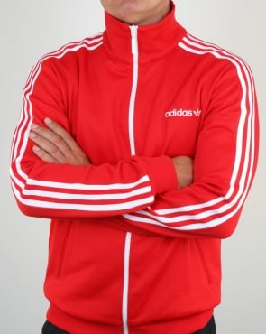 Adidas Originals Beckenbauer Track Top Vivid Red
