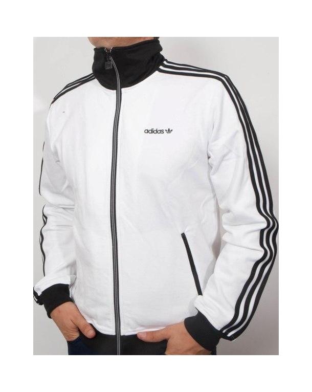 Whiteblack Beckenbauer Originals Adidas Top Track Tracksuit xqvHCYH