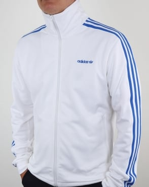 Adidas Originals Beckenbauer Track Top White/Blue