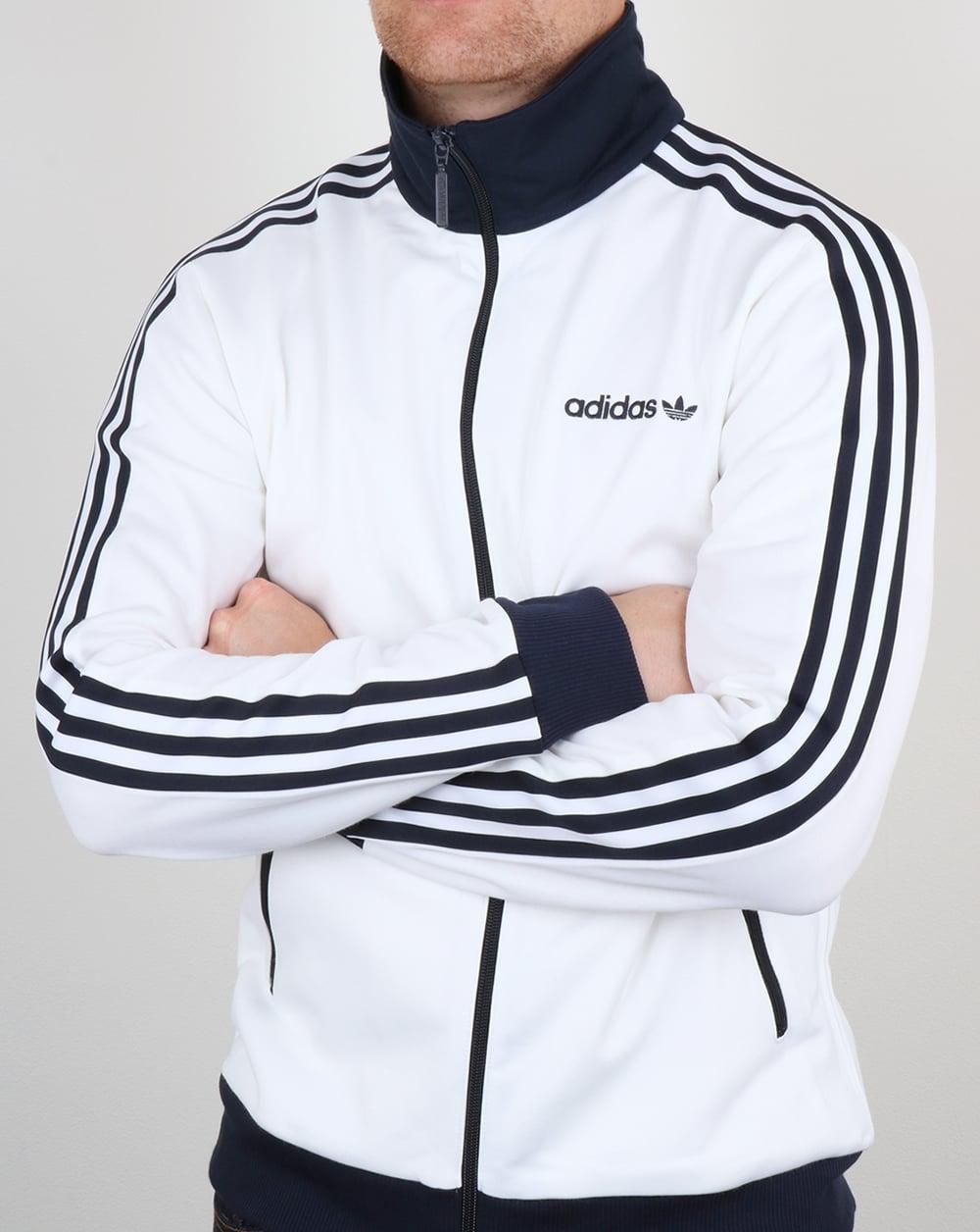 design innovativo il migliore selezione mondiale di Adidas Beckenbauer, Track Top, White, Navy, Jacket, Originals, Black