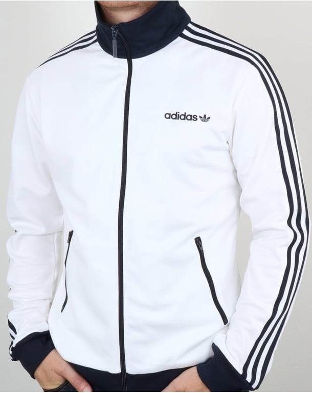 Adidas Originals Beckenbauer Track Top White