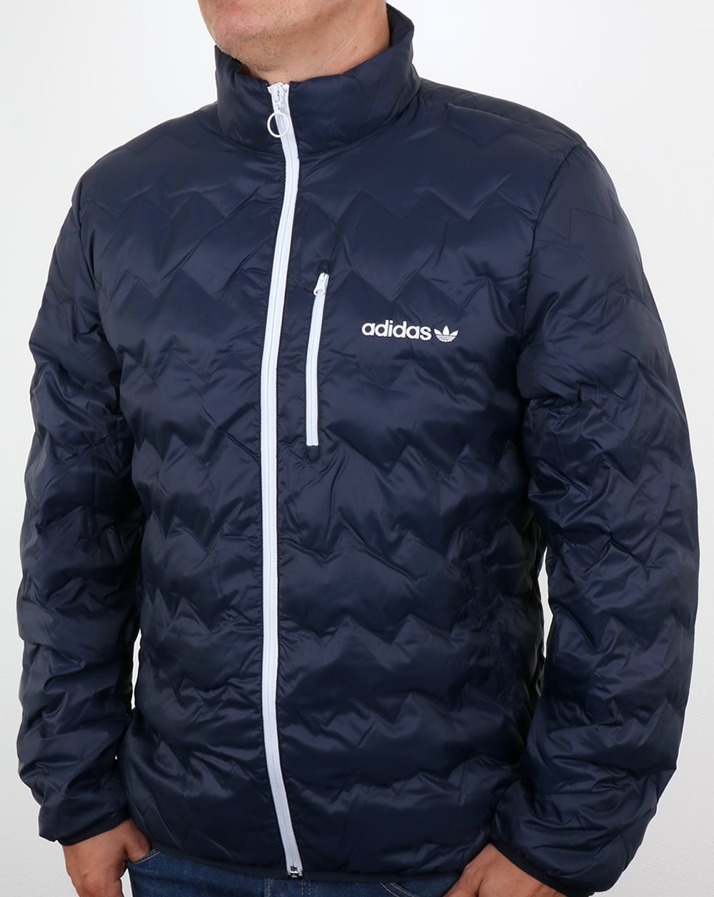 Adidas Originals Serrated Jacket Legend Ink Padded Coat