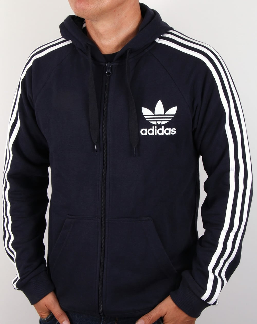 adidas originals calfornia full zip hoody legend ink track. Black Bedroom Furniture Sets. Home Design Ideas