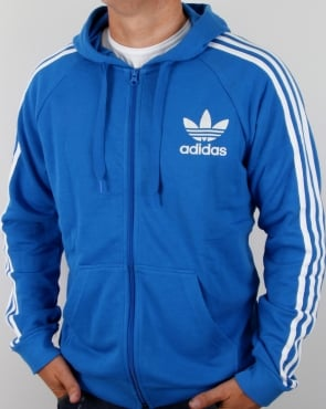 Adidas Originals California Full Zip Hoody Bluebird