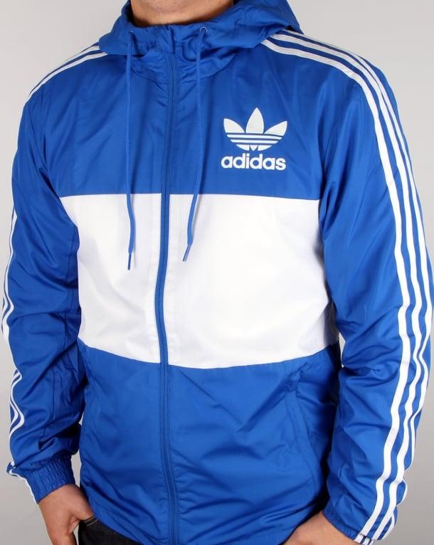 Adidas Originals California Windbreaker Blue/white
