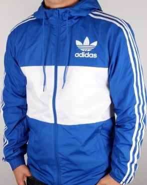 Adidas Originals California Windbreaker Blue/white